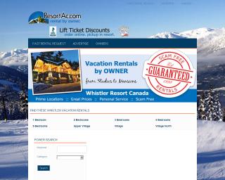 ResortAccom New Website