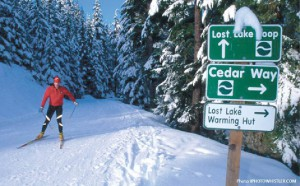 nordic skiing whistler